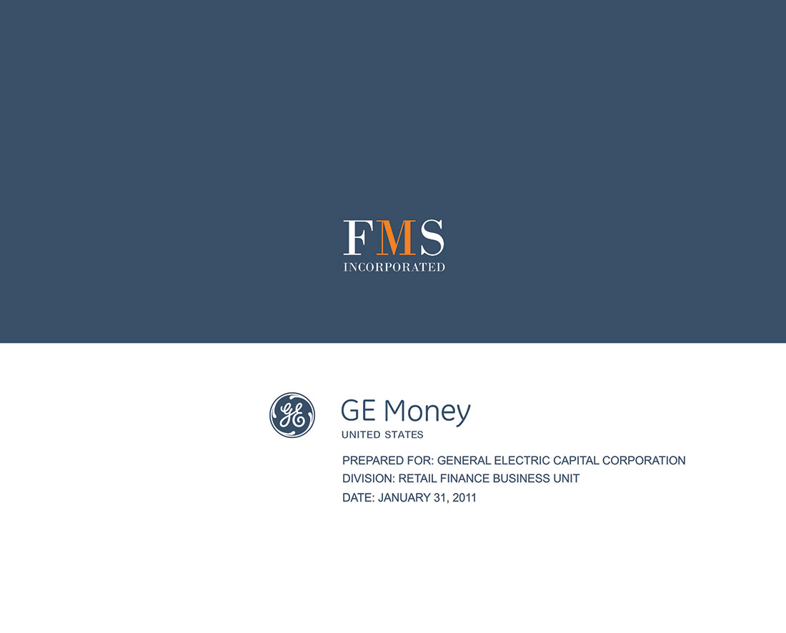 FMS & GE Money